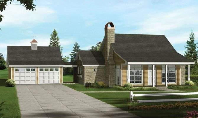 Acadian Ranch Home Plan House Plans Source