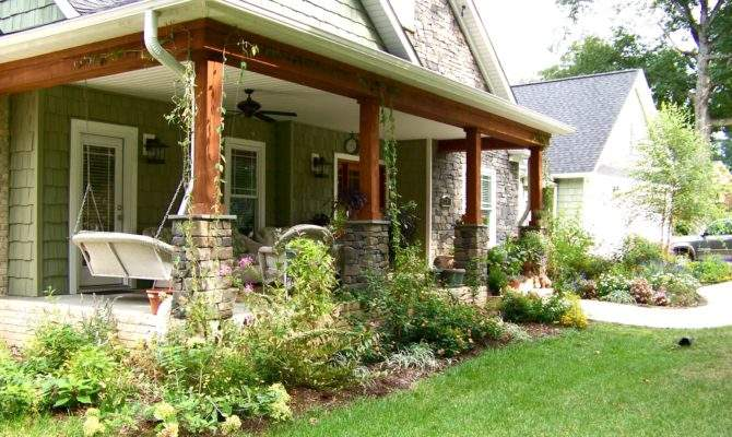 Adding Back Porch Ranch Style House