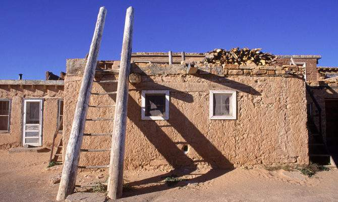 Adobe Houses Ladder Casting Photograph Ira Block Which