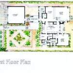 Aia Mission Canyon Heights Residence Santa Barbara First Floor Plan