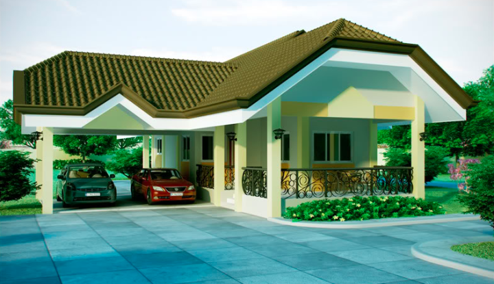 Alluring Single Storey Bungalow House Home Design