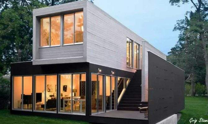 Almost Luxury Shipping Container Homes Youtube