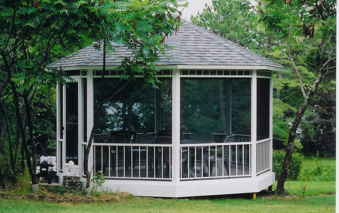 Aluminum Screened Gazebo Kits Awesome Ideas
