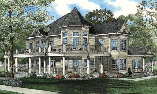 Amazing Luxury Victorian Two Story Turret Levels