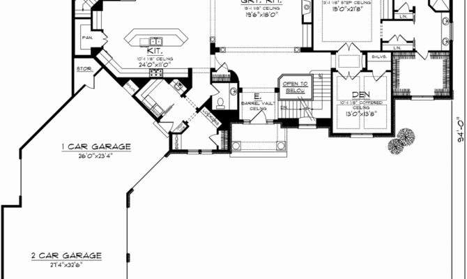 Angled House Plans Beautiful Single Story Ranch