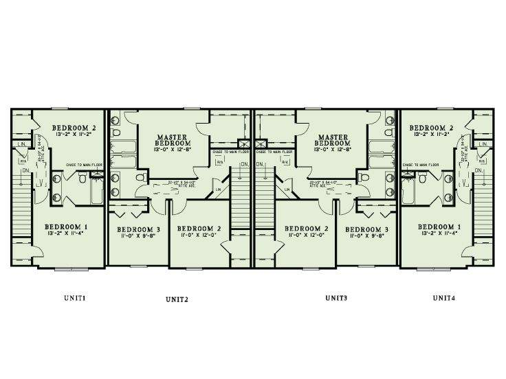 Apartment Plans Multi Home Design