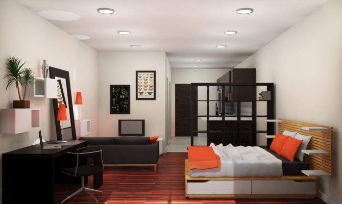 Apartments One Bedroom Apartment Designs Example