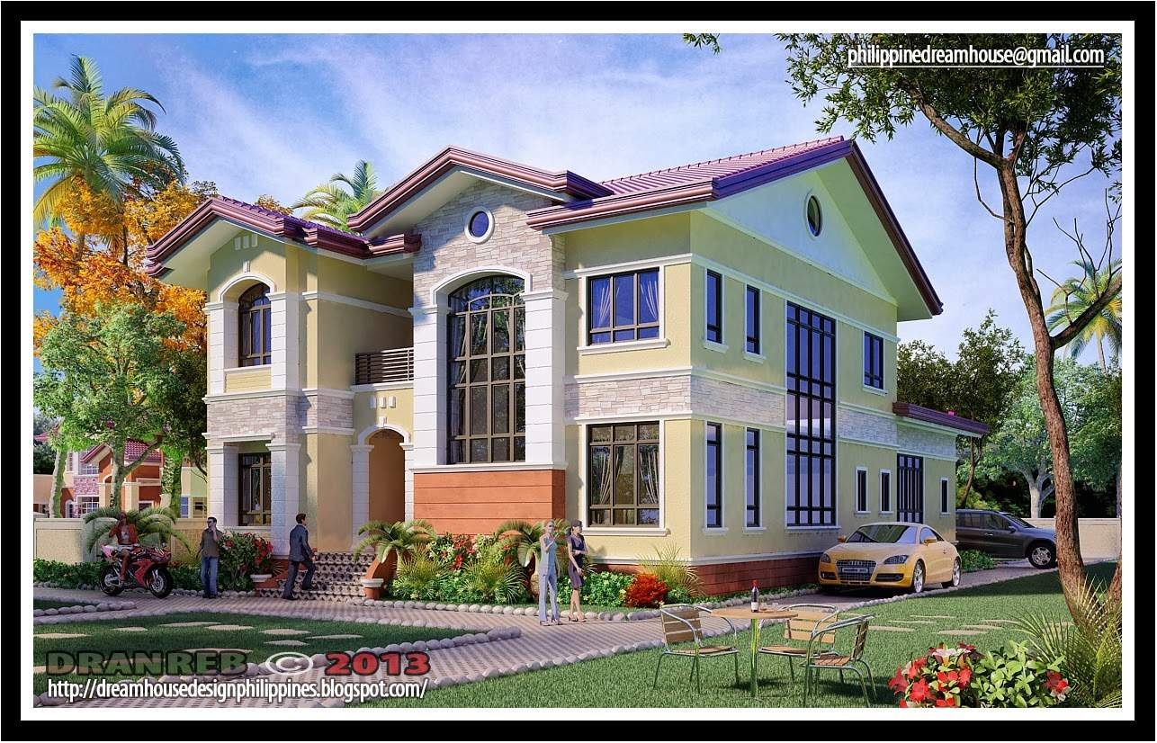Architect Bernard Cadelina Two Storey House Design