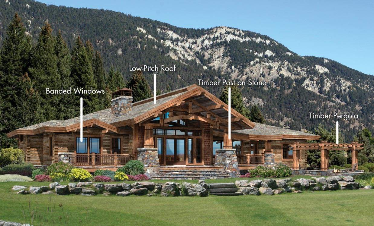 Architectrual Styles Log Homes Timber