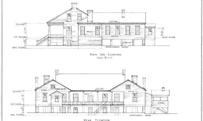 Architectural Drawings Houses