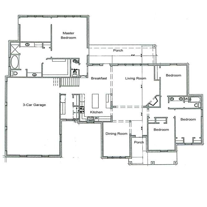 Architectural Plans Homes Floor