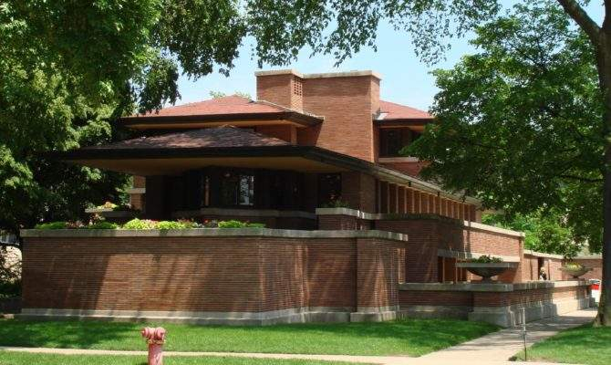 Architecture Frank Lloyd Wright Style Home Studio