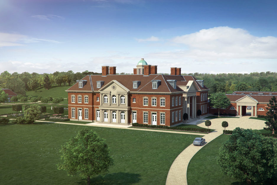 Artist Impression New Country Estate England