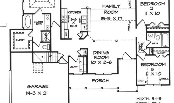 Atkins House Plans Floor Architectural Drawings