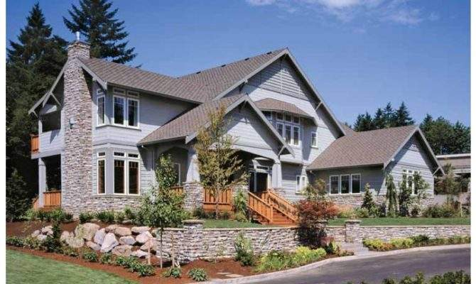 Awesome Design Craftsman Style House Homesfeed