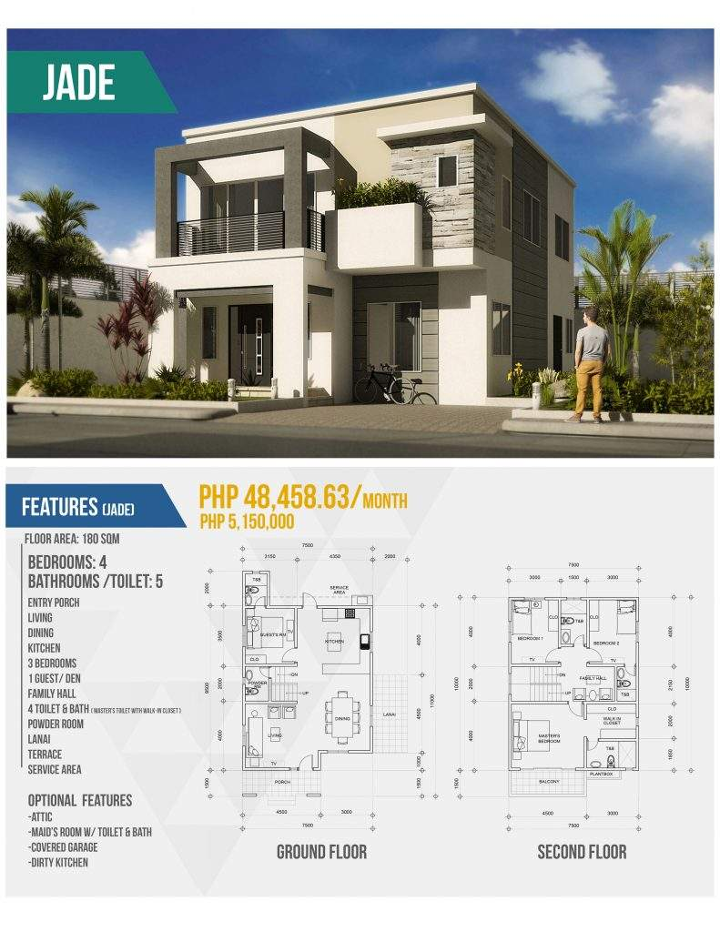 Awesome Modern House Designs Floor Plans Philippines