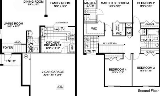 Awesome Single House Plans One Story