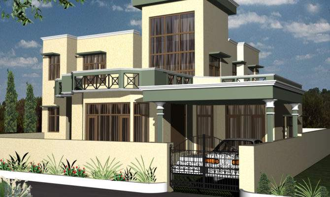 Awesome Small Duplex House Designs Best Design