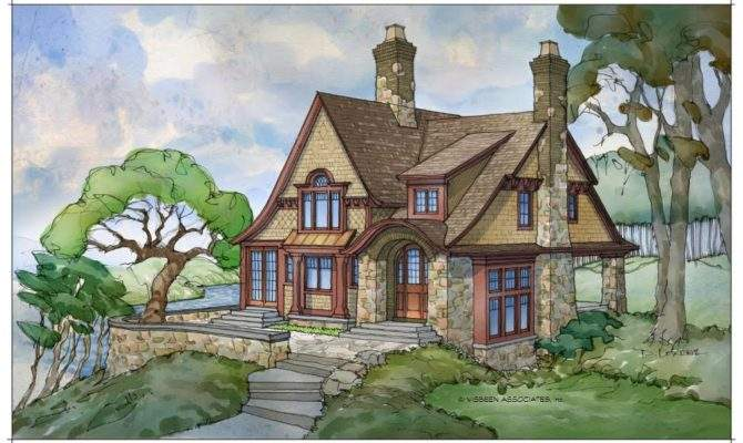 Awesome Storybook Style House Plans