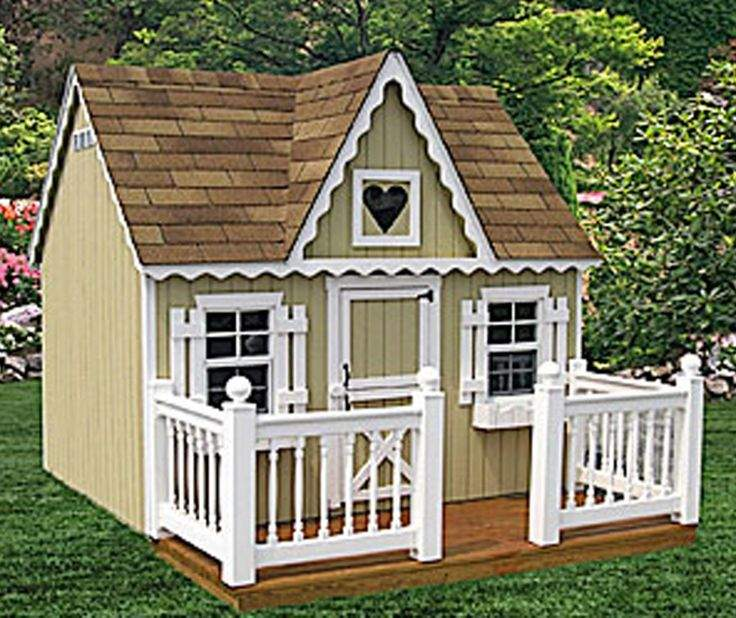 Awesome Victorian Playhouse Designs