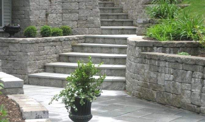 Backyard Landscape Ideas Walkout Basement Garden