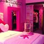 Barbie Themed Hotel Room Designed Eclectic Girly Travelers