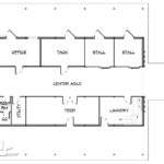 Barn Home Living Quarters Downstairs Floor Plans