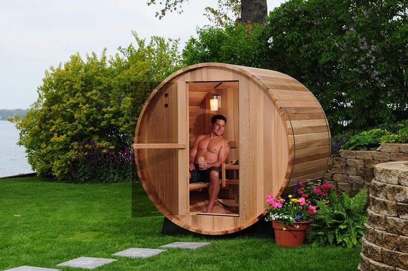Barrel Sauna Almost Heaven Saunas