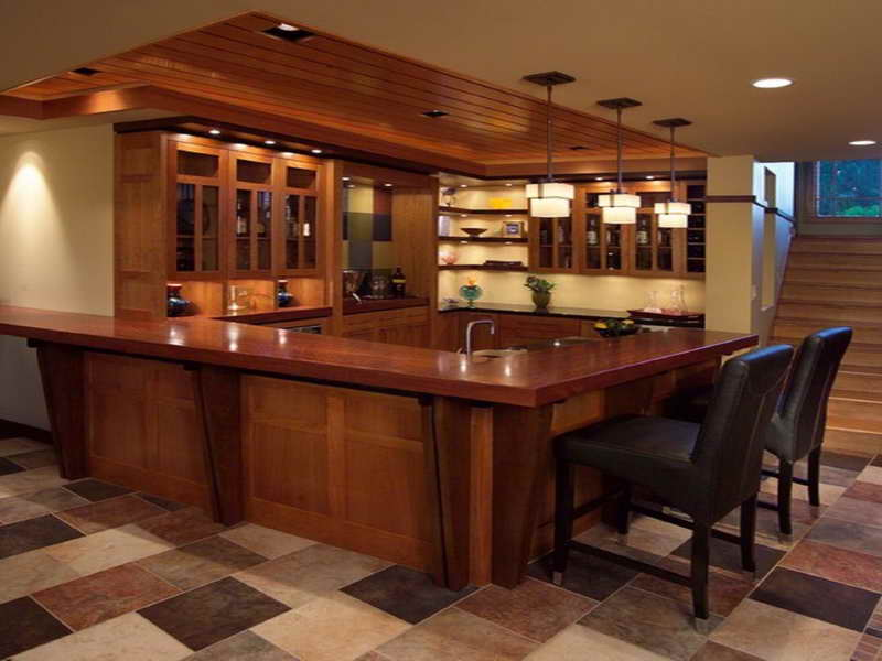 Basement Bar Designs Plans