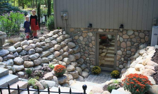 Basement Walkout Milford Michigan Traditional Patio
