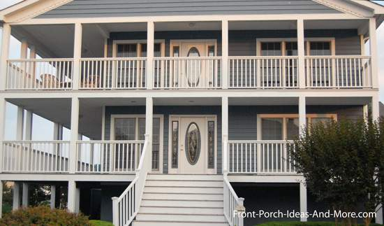 Beach Home Plans Coastal Houses Front Porch