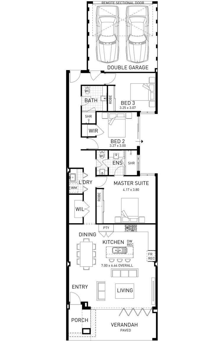 Beach House Three Bed Home Design Plunkett Homes