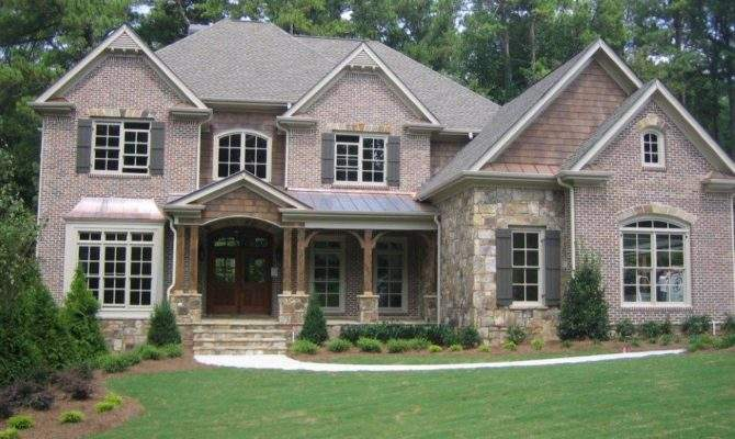 Beautiful Brick Homes Stately Estate Home