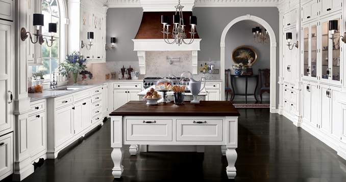Beautiful Designer Kitchens Cottage Style Kitchen Design