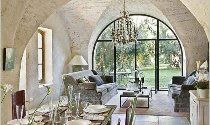 Beautiful French Country House Dining Room