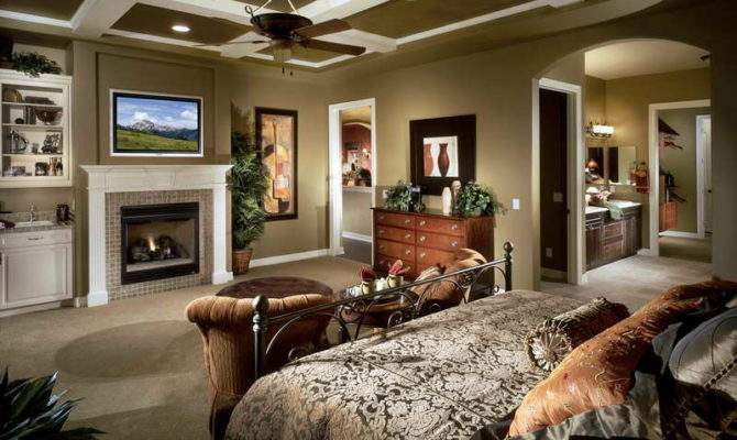 Beautiful Master Bedrooms Fireplaces Becuo