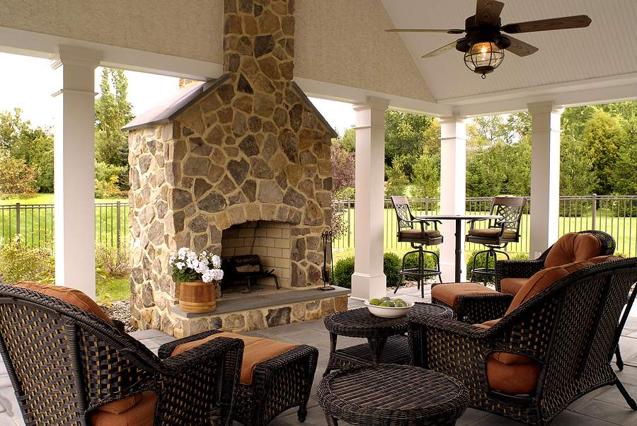 Beautiful Outdoor Living Rooms Room Ideas
