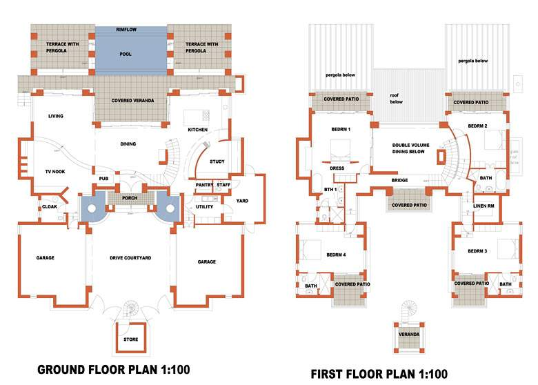 Beautiful South African House Plans Interior Design Ideas
