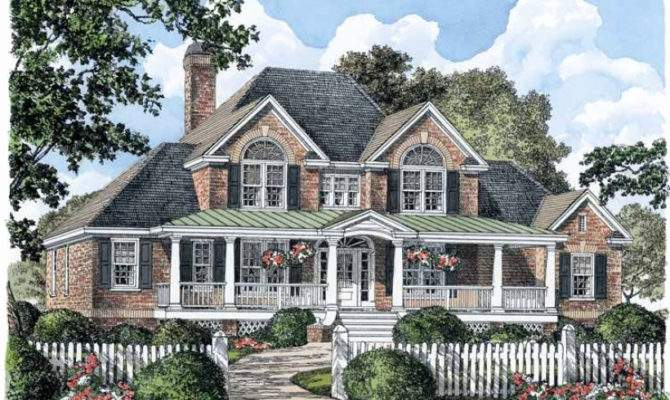 Beautiful Southern Charm House Plans