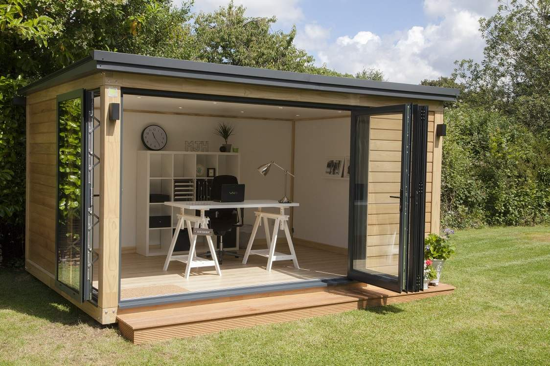 Beautiful Surrey Garden Office Mrs