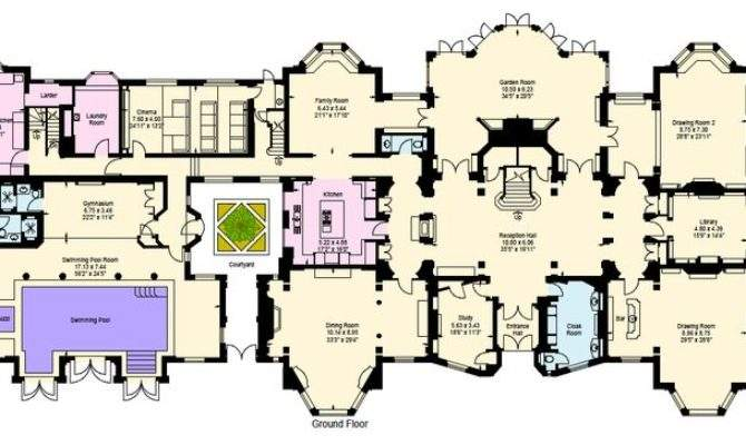 Beautiful Victorian Mansions Floor Plans House