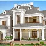 Beautiful Victorian Model Luxury Home Kerala Design Floor
