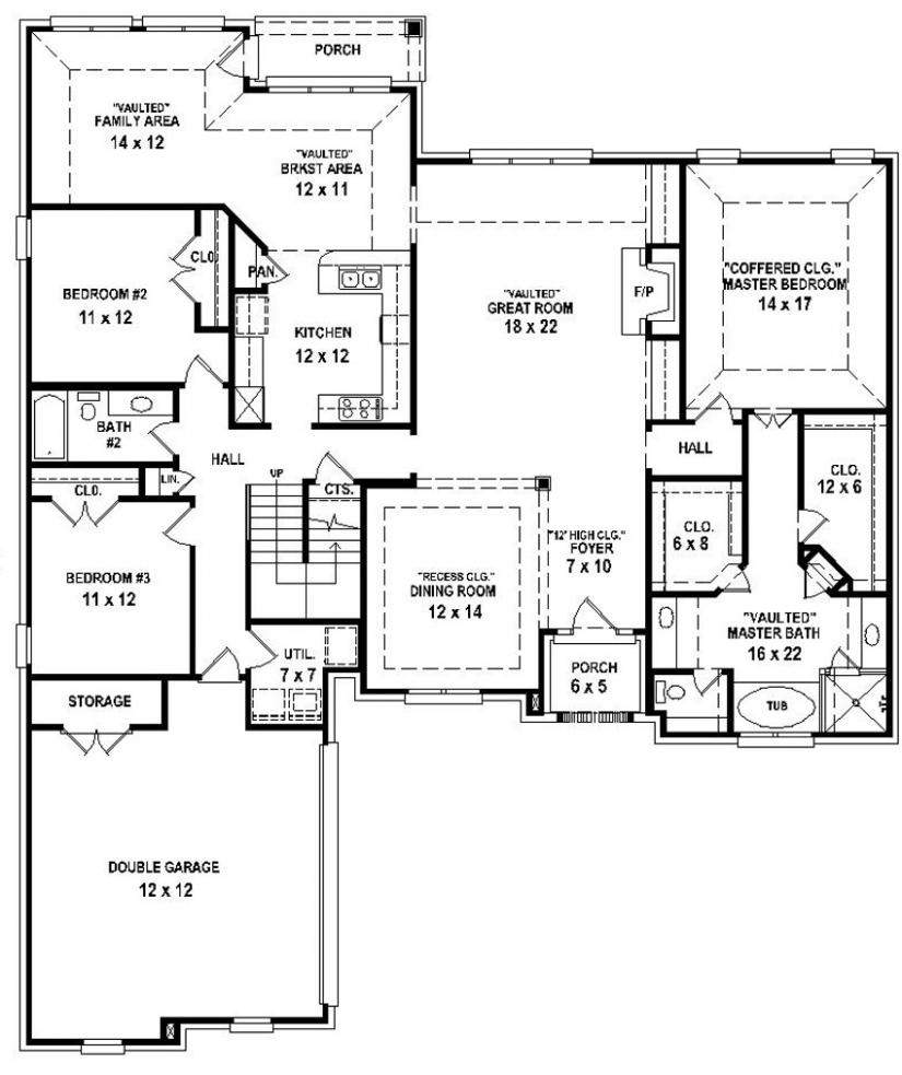 Bed Bath House Plan Interesting Hireonic
