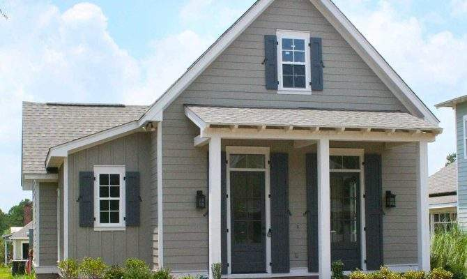 Bed Narrow Lot Cottage Home Plan