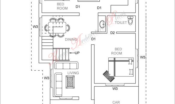 Bed Room Square Feet House Plan Architecture Kerala