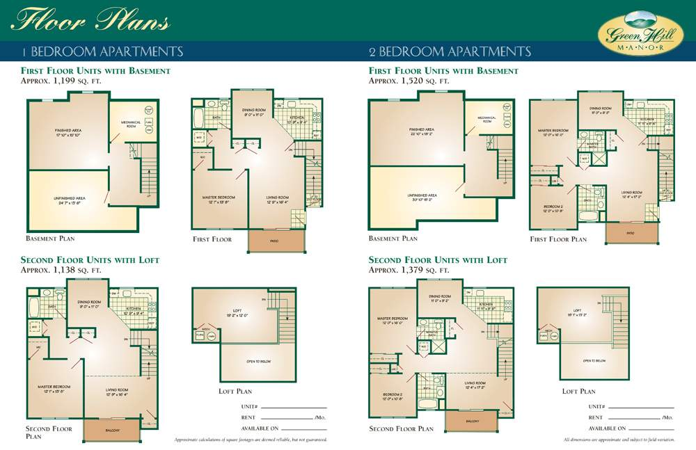 Bedroom Basement Apartment Floor Plans