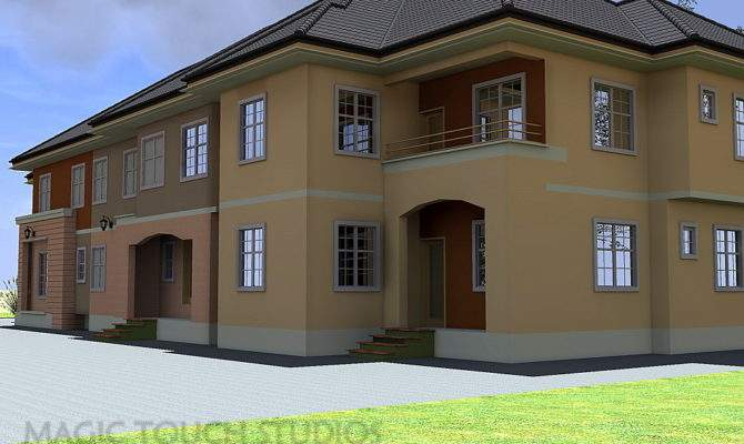 Bedroom Duplex Attached Two Flat