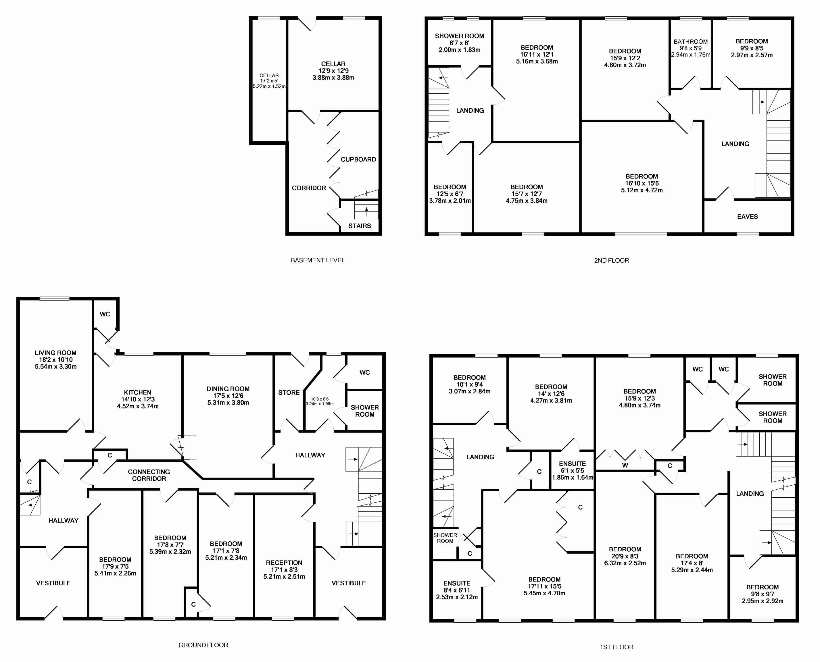 Bedroom Home Plans