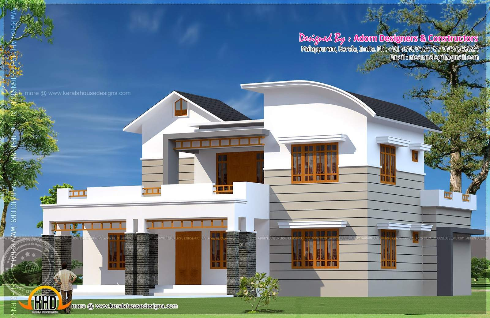Bedroom House Exterior Indian Plans