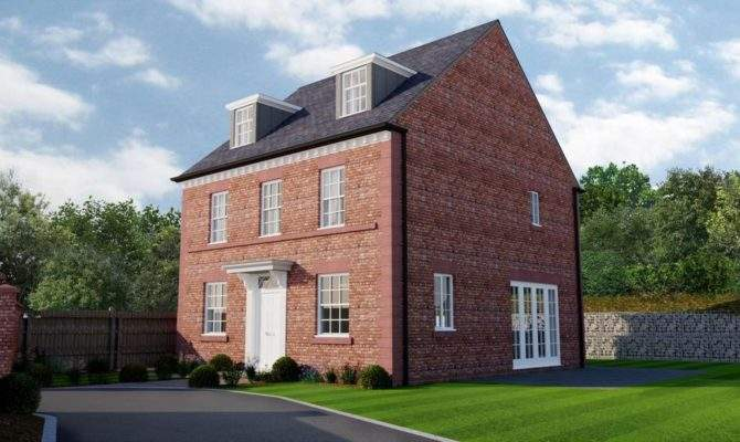 Bedroom House New Build Kelsall Bed Property